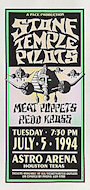 Stone Temple Pilots Handbill