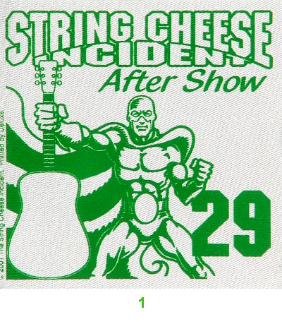 String Cheese Incident Backstage Pass
