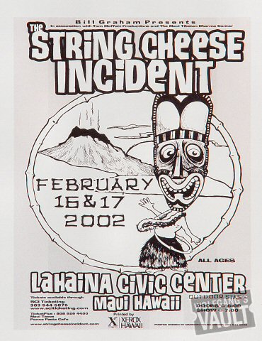 String Cheese Incident Handbill