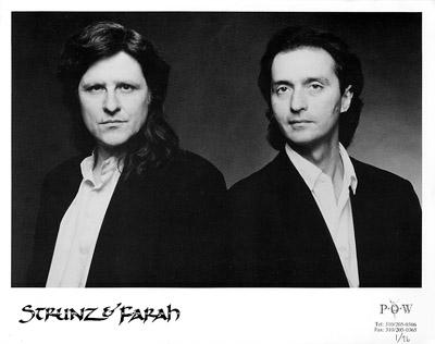 Strunz & Farah Promo Print