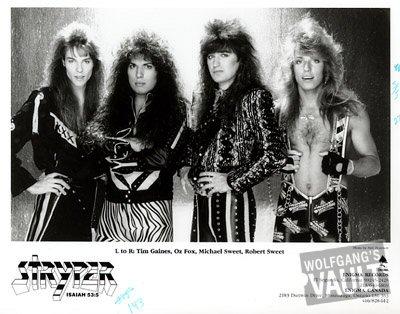 Stryper Promo Print