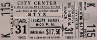 Styx Vintage Ticket