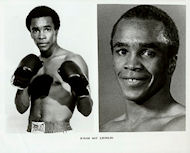 Sugar Ray Leonard Promo Print