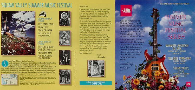 Summer Music Festival Series Program