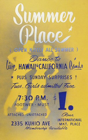 Summer Place Poster