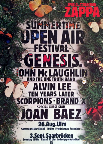 Summertime Open Air Festival Poster