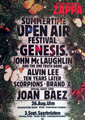 Summertime Open Air Festival Poster