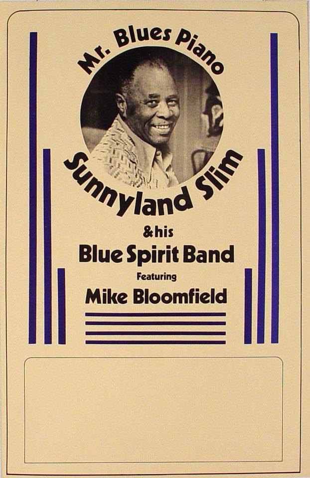 Sunnyland Slim Poster