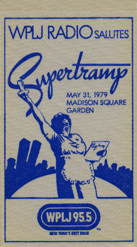 Supertramp Backstage Pass