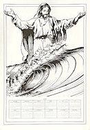 Surfin' Jesus Poster