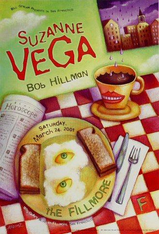 Suzanne Vega Poster