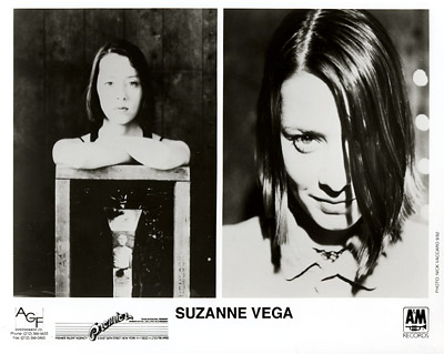 Suzanne Vega Promo Print