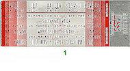 Suzanne Vega Vintage Ticket
