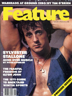 Sylvester Stallone Crawdaddy Magazine