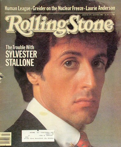 Sylvester StalloneRolling Stone Magazine