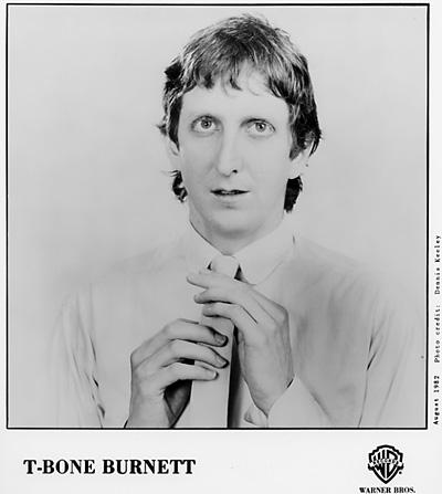 T-Bone Burnett Promo Print