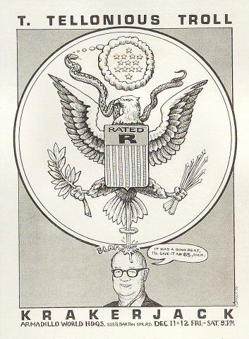T. Thelonious Troll Handbill