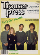 Led Zeppelin Trouser Press Magazine