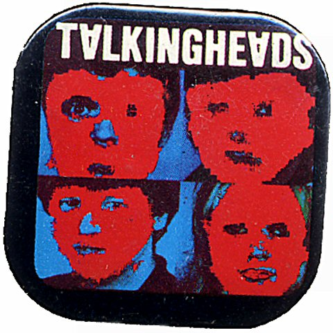 Talking Heads Vintage Pin