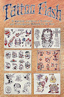 Tattoo Flash Postcard