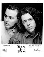 Tears for Fears Promo Print
