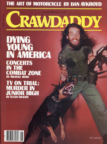 Ted Nugent Crawdaddy Magazine