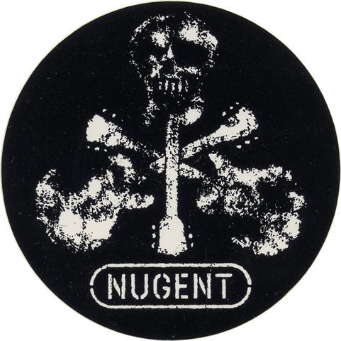 Ted Nugent Sticker
