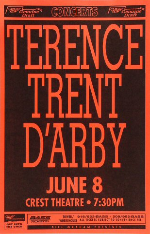 Terence Trent D'ArbyPoster