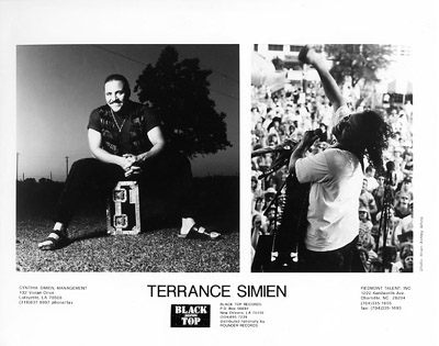 Terrance SimienPromo Print