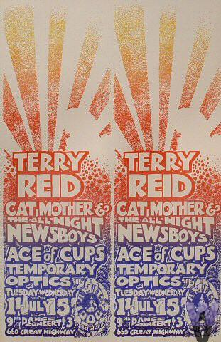 Terry Reid Poster