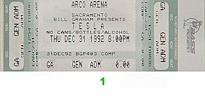 Tesla1990s Ticket