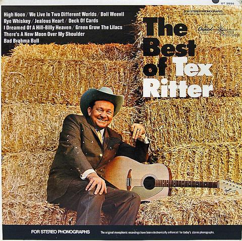 Tex Ritter Vinyl (Used)