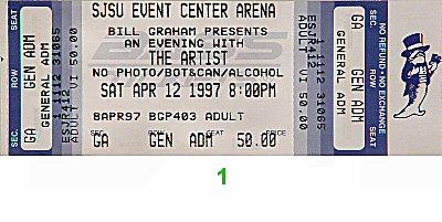 The Artist1990s Ticket