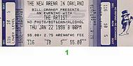 Larry Graham & Graham Central Station 1990s Ticket