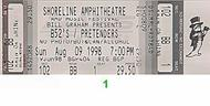 The Pretenders 1990s Ticket
