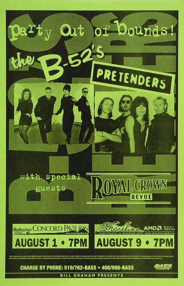 The B-52's Poster