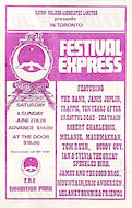 The Band Handbill