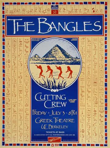 The Bangles Poster
