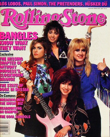The Bangles Rolling Stone Magazine