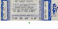 The Beach Boys 1990s Ticket