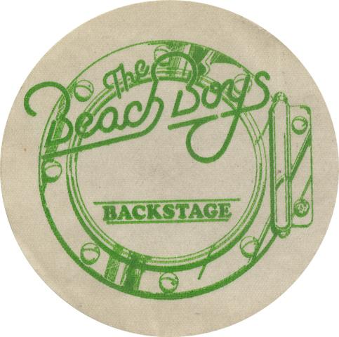 The Beach BoysBackstage Pass