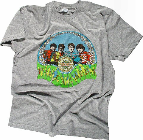 The Beatles Men's Retro T-Shirt