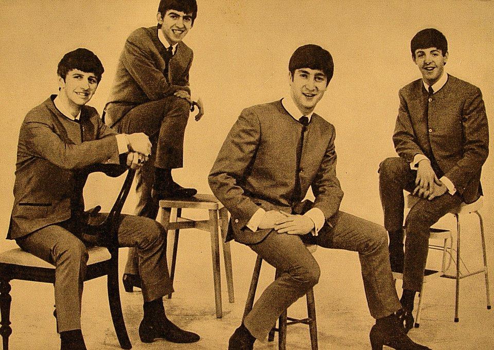The Beatles Postcard