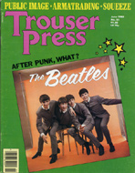 The Beatles Trouser Press Magazine