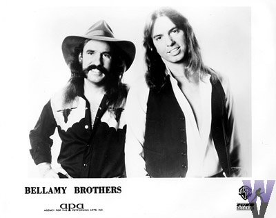 The Bellamy Brothers Promo Print