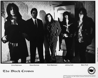 The Black Crowes Promo Print