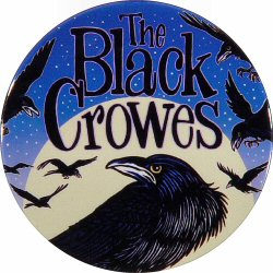 The Black Crowes Retro Pin