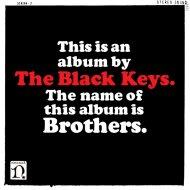 "The Black Keys Vinyl 12"" (New)"