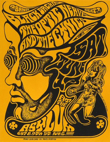 The Black Orchids Handbill