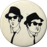 The Blues Brothers Pin